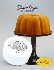 Thank You - Elegance - The Pound Cake Company