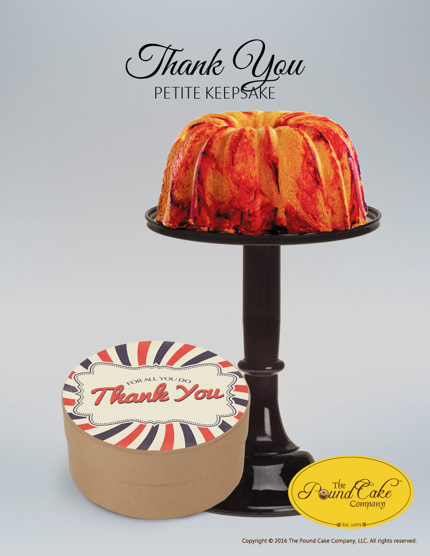 Thank You - Kraft - The Pound Cake Company