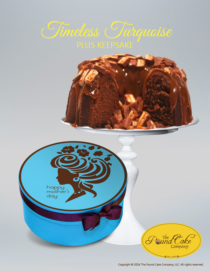 Timeless Turquoise - The Pound Cake Company