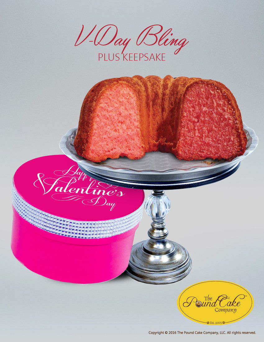 *V-Day Bling - The Pound Cake Company