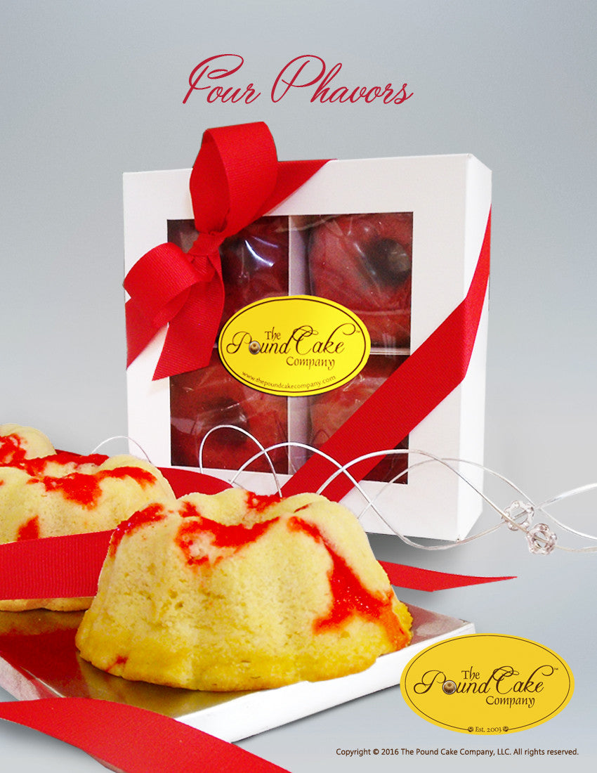 *Valentine Four Phavors - The Pound Cake Company