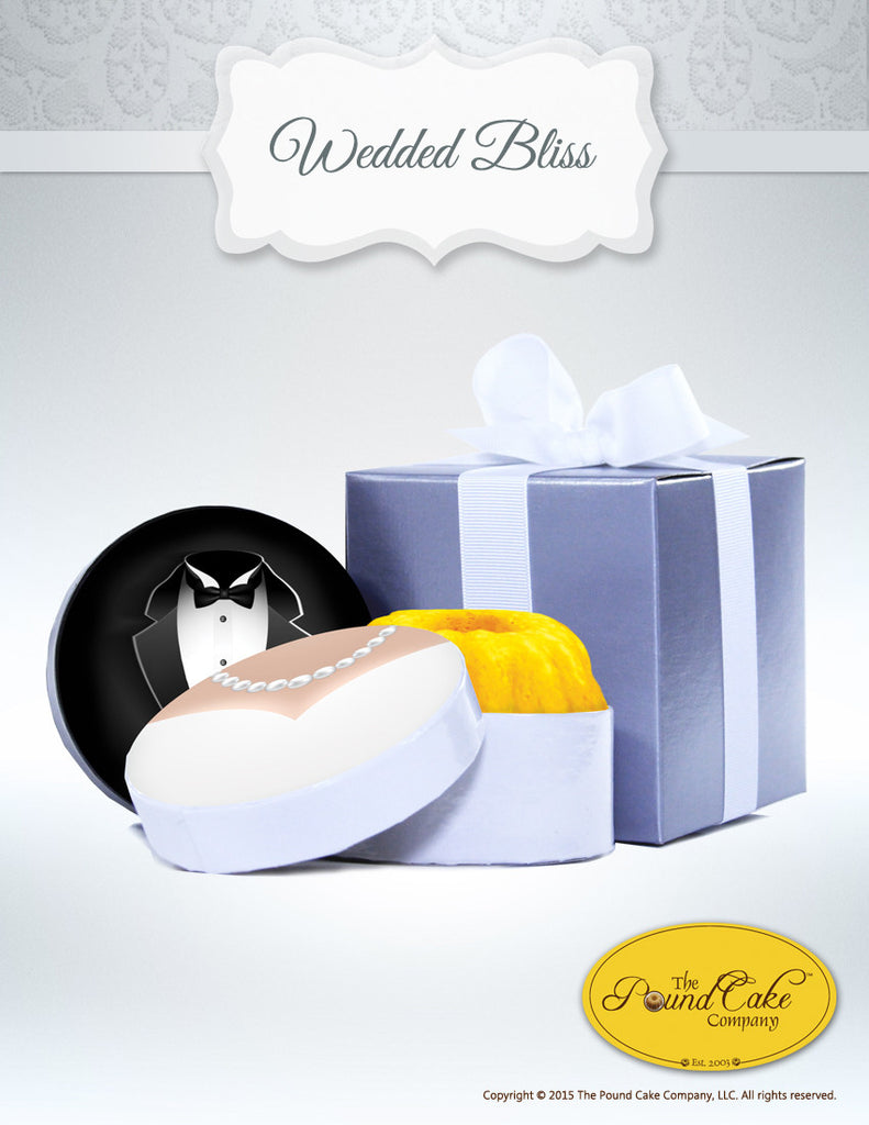 Wedded Bliss - The Pound Cake Company