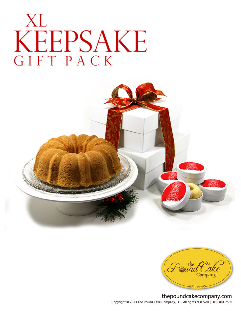 XL Gift Pack - The Pound Cake Company