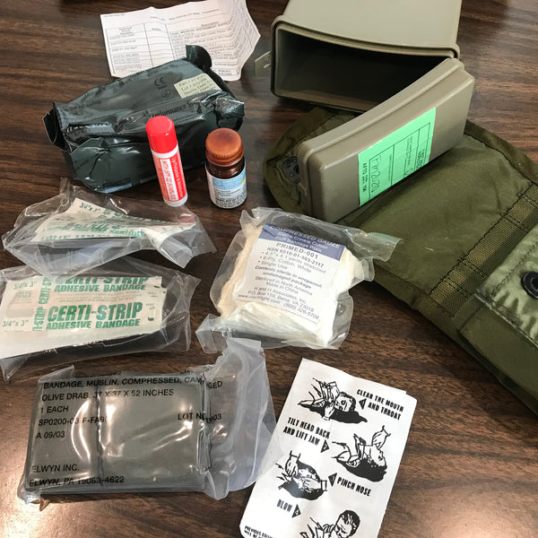 Contents of the First Aid Kit, Individual