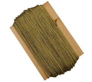 Coyote Brown Nylon Type 1A Parachute Cord, Made in the USA, PIA-C-5040 MIL-C-5040h Conforming