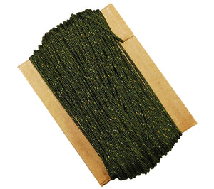 Camo Green Type 1A Nylon Paracord, 100 ft., conforming to PIA-C-5040
