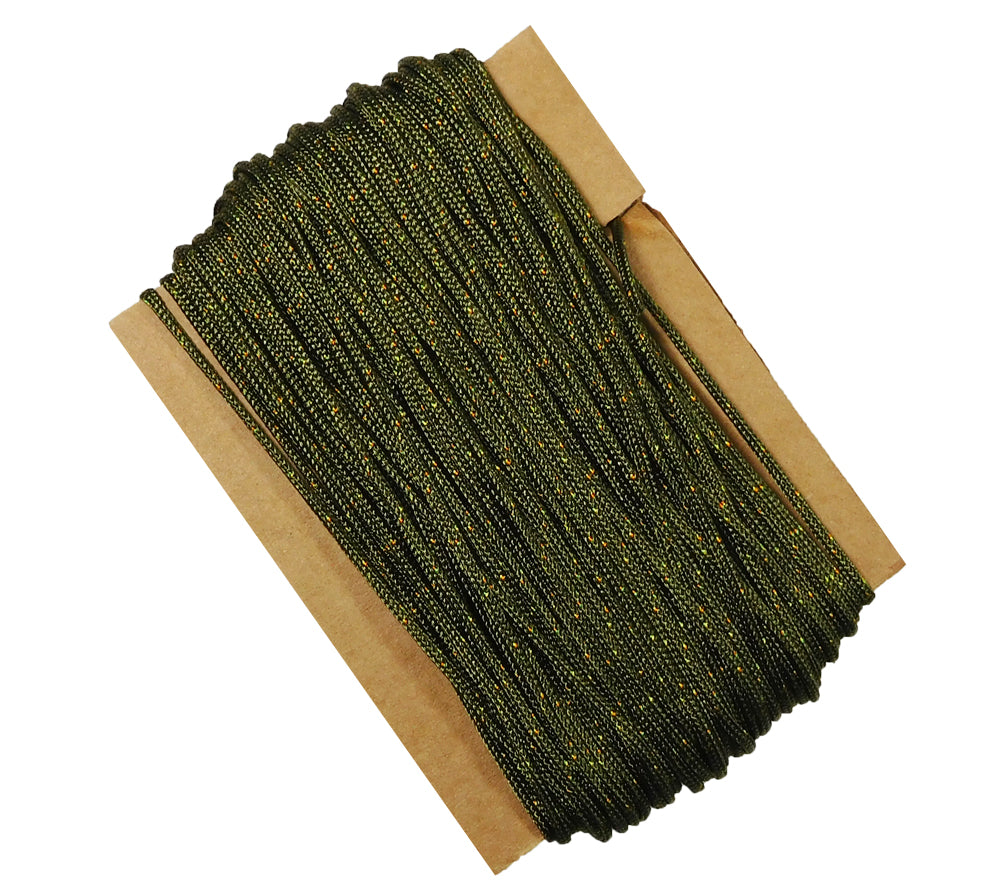 Olive Drab Type IA Parachute cord. Excellent for use as tethers or dummy cord.