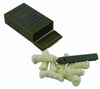Olive Drab Spark-Lite Military Fire Starter with TinderQuik tabs and Plastic Case.