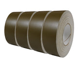 A 4-pack of olive drab military grade duct tape, each marked with NSN 7510-00-266-5016.