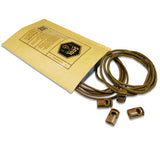 Coyote Brown Attachenator Kits from 5col Survival Supply are ideal for backpacks and kit bags
