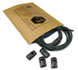 Each Foliage Attachenator Kit includes 550 cord, shock cord, and ITW Cordloks.