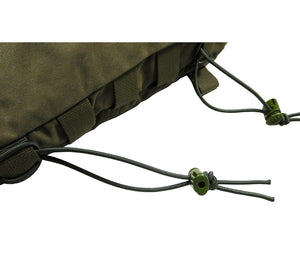 Attachenator Kits can be used to attach a poncho, tarp, or other gear to your backpack or kit bag.