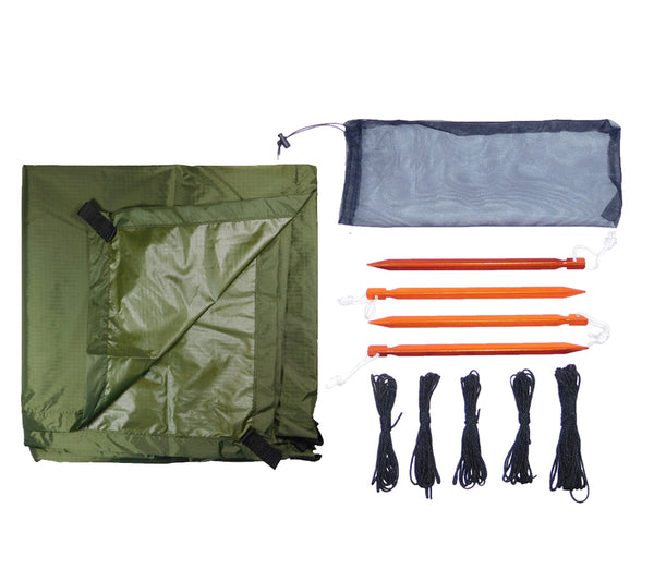 Ultralight Tarp Shelter Kit - 5col Survival Supply