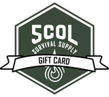 Buy a Gift Card to 5col Survival Supply!