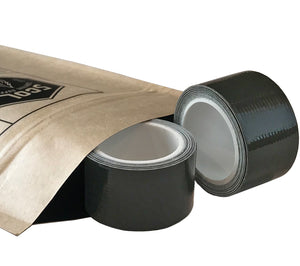 Mini Duct Tape Rolls, 1 inch x 100 inch, Dark Green (Olive) available in 2-packs from 5col Survival Supply. Perfect for survival kits, first aid kits, tool boxes, glove compartments, and more.