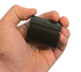 This 2 in. x 100 in. roll of contractor grade duct tape fits in the palm of your hand.