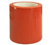 Bright orange duct tape, for times when high visibility adhesive cloth-backed tape is helpful.