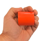 Compact, easy-to-carry bright orange contractor grade duct tape from 5col Survival Supply.