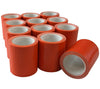 5col Survival Supply's Orange Mini Duct Tape Rolls are made in the USA and available here in cases of 12 rolls.
