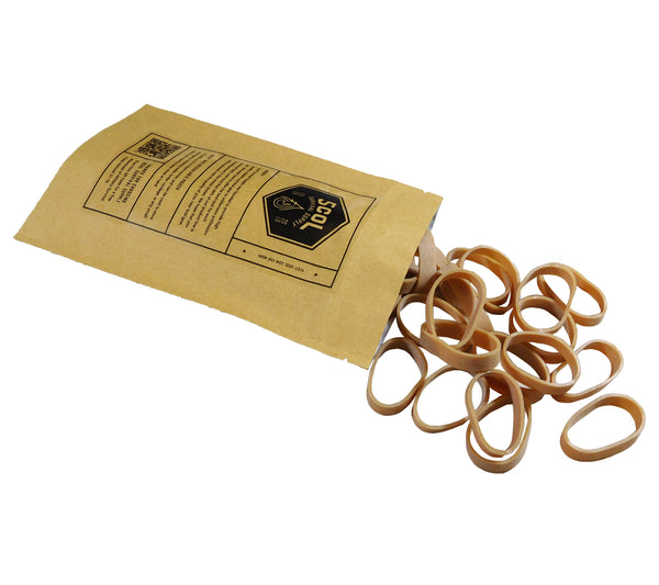 Mil-PRF-1832E Type 2 Parachute Bands are made from natural crepe rubber.