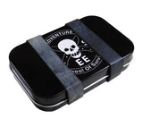 Secure your Altoids tin survival kit with 5col Ranger Bands.