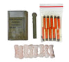 Our Wilderness Survival Kit has a Spark-Lite Firestarter, 8 TinderQuik Tabs, and 10 UCO Matches.