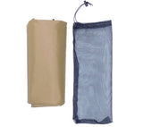 Coyote Brown 5 x 7 Ripstop Nylon Tarp with No-See'Um Mesh Stuff Sack
