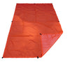 Hunter Orange Ultralight Tarp made from Urethane Treated RipStop Nylon
