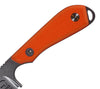 Backpacker Knife G10 Handles in orange, from WRK.