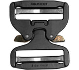 Back side of the Pro-Style 50mm COBRA Quick-release Buckle from AustriAlpin.
