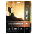 AlpineAire Foods Bandito Scramble Freeze Dried Breakfast Meal