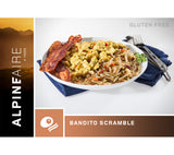 Bandito Scrambled Eggs is a delicious freeze dried breakfast great for backpacking, camping, wilderness survival and emergency preparedness.