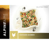 Spicy Chicken Gumbo is a delicious, ultralight freeze dried meal from AlpineAire Foods.