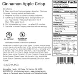 Cinnamon Apple Crisp - AlpineAire Foods Freeze-Dried Dessert