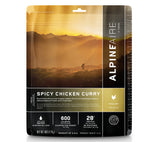 AlpineAire Foods Spicy Chicken Curry Freeze Dried Meal