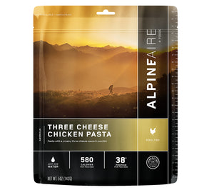 AlpineAire Three Cheese Chicken Pasta Freeze Dried Meal