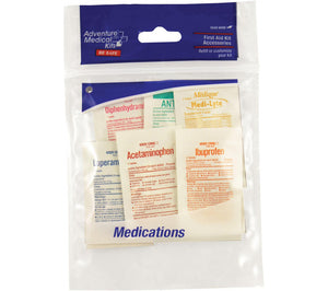 Refill, First Aid Kit Accessories, Medications from Adventure Medical Kits
