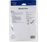 AMK's Wound Care refill kit has antiseptic wipes, antibiotic ointment, butterfly closures, bandaids, and more.