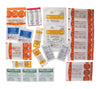 The full assortment of Wound Care supplies in the refill kit from Adventure Medical Kits.