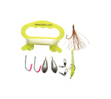 BCB's Survival Fishing Kit includes hooks, sinkers, lures, line and winder.