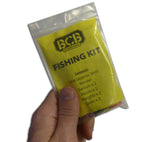 The compact survival fishing kit from BCB International fits in your pocket or the palm of your hand.