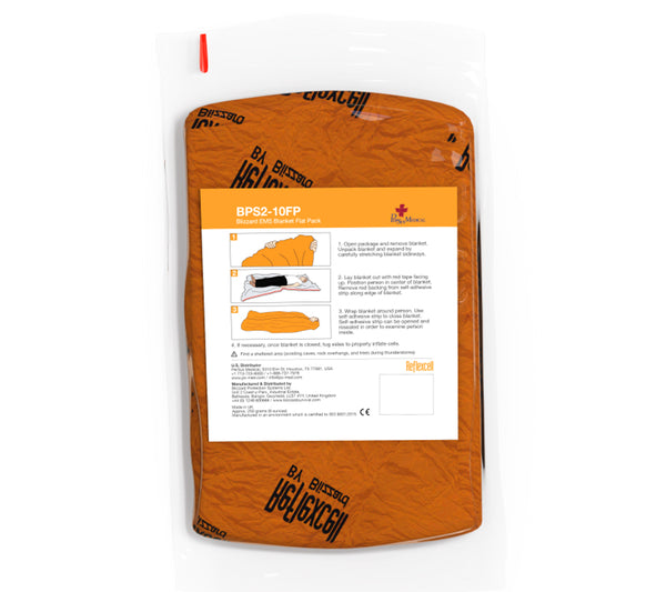 The Flat Pack EMS Blanket from Blizzard Survival.