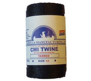 Tarred Twisted #12 Bank Line from Catahoula Manufacturing, available here on a 1/4 lb spool.