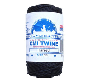 Catahoula makes #18 tarred twisted nylon bank line from AA Seine Twine.