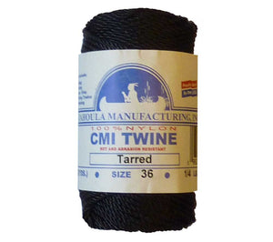 5col Survival Supply is proud to sell #36 Tarred Twisted nylon bank line on 1/4 spools.