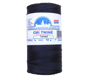 1 pound spools of #12 twisted bank line are an excellent value.