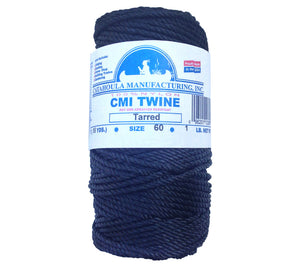 #60 twisted nylon AA Seine Twine, or Bank Line, is available with free shipping from 5col Survival Supply.