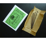 This 5-pack of Wm. Smith & Son steel sailmaker's sewing needles are sold in packs of five, sizes 13-19.