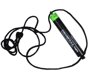 Spin the SOS Signal glow stick by the included 30 in. lanyard to alert rescuers.