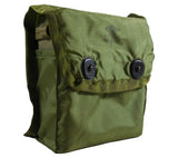 Military Individual First Aid Kits in Olive Drab pouches with ALICE clips.